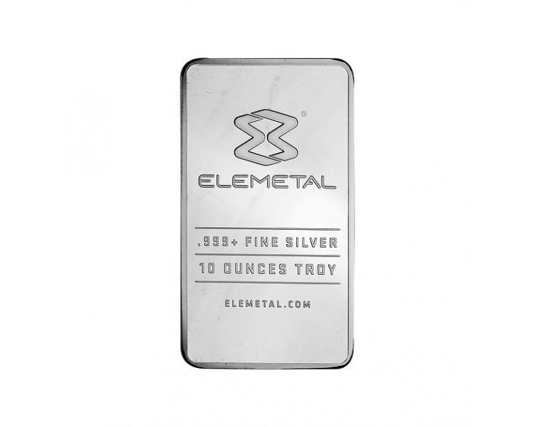 10oz-Elemetal-Silver-Minted-Bar-front