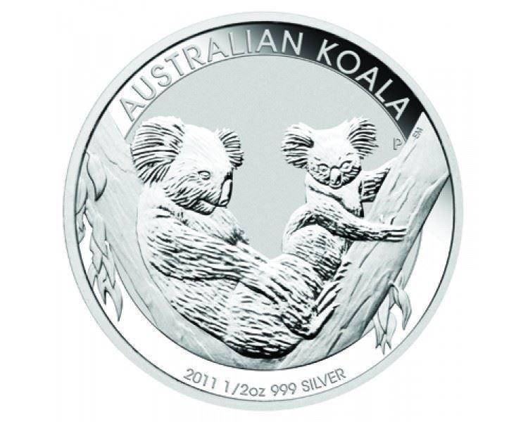 1/2oz-Koala-Silver-Coin-(2011)-reverse