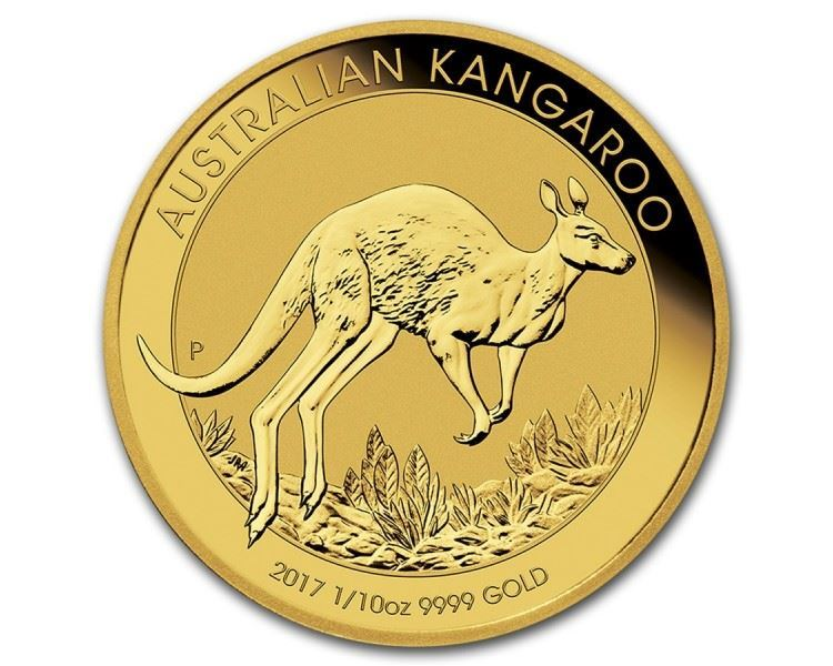 1/10th-oz-Kangaroo-Gold-Coin-(2017)-reverse