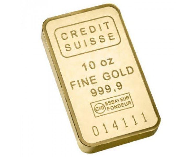10oz-Credit-Suisse-Gold-Minted-Bar-front