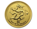 1/10th-oz-Lunar-2012---Year-of-the-Dragon-Gold-Coin-reverse