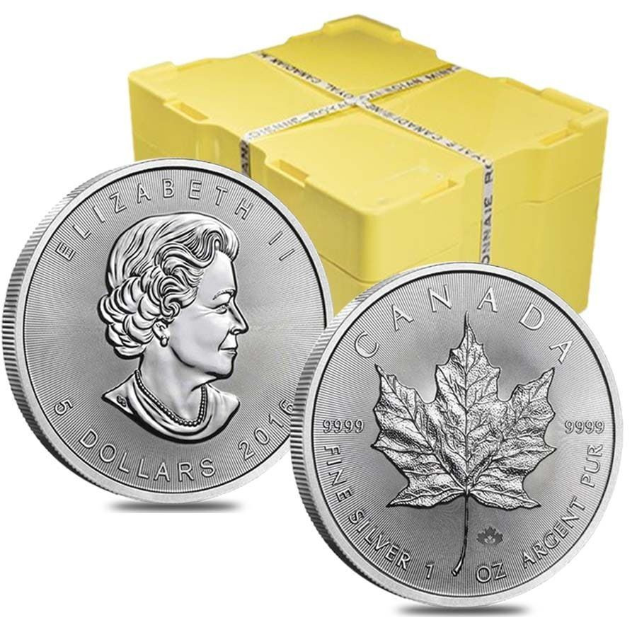 500x-1oz-Canadian-Maple-Silver-Coin-(2017)-monster-box-sealed