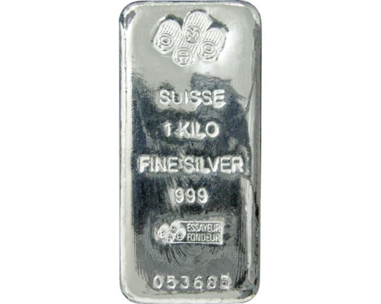 15x-1kg-PAMP-Silver-Cast-Bar