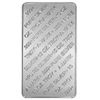 10 oz A-MARK Silver Minted Bar (back)