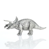 Queensland Mint Solid Sterling Silver Triceratops Left Side