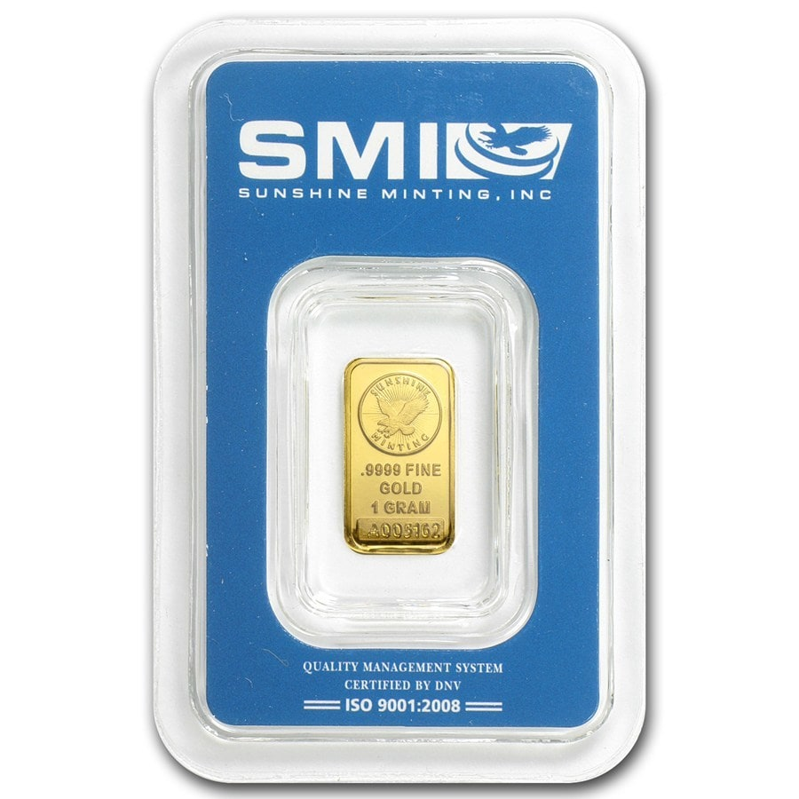 1g-Sunshine-Mint-Gold-Minted-Bar-Front