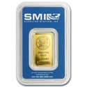 10g-Sunshine Mint-Gold-Minted-Bar-Front