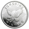 1/2oz Sunshine Mint Silver Round Front