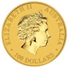 1oz Perth Mint Kangaroo Gold Coin (2013) obverse