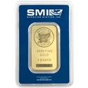 1oz-Sunshine Mint-Gold-Minted-Bar-Front