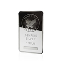 1kg Sunshine Mint Silver Bar front